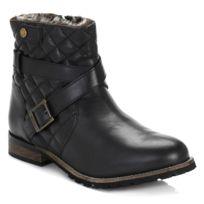 Barbour - International Womens Black Hetton Ankle Boots-UK 3