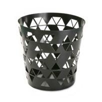 Versa - Corbeille à papier Polygon - noir