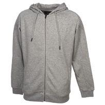 Unkut - Vestes sweats zippés capuche Stone greymel hoody sweat Gris 59081