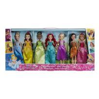 DISNEY - PRINCESS - Pack de 7 poupées styles éclatants - C1713