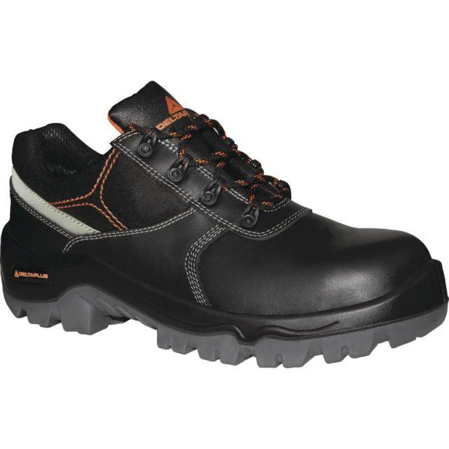 Chaussure Haute Cuir Croupon Pigmente Noir Phoenix S3 Src - Phoens3no0 j6S2A
