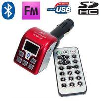 Yonis - Transmetteur Fm Bluetooth Usb carte Sd kit main libre voiture