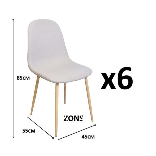 chaise de salle à manger en tissu pas cher