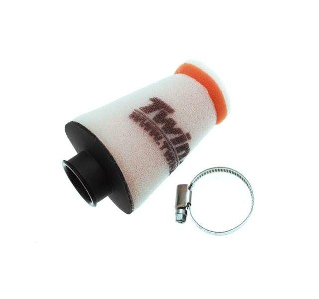 Filtre /à air coud/é TWIN AIR /Ø raccord 40mm coud/é 45/°