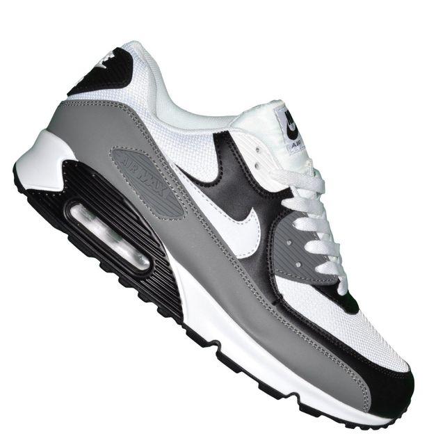 air max 90 gris blanc