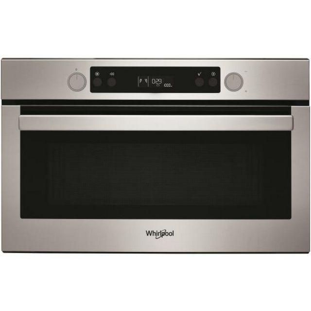 Whirlpool micro-ondes grill encastrable 31l 1000w inox - amw804ix