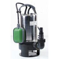 Ribimex - Pompe vide-cave eaux chargées 900w inox base plastique + interrupteur flotteur
