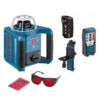 Bosch - Laser rotatif de portée 300m à mise à niveau automatique horizontale et verticale GRL 300 HV 0601061501