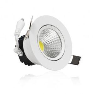 vision el spot led encastrable 7w cob blanc froid pas cher achat vente ampoules led. Black Bedroom Furniture Sets. Home Design Ideas