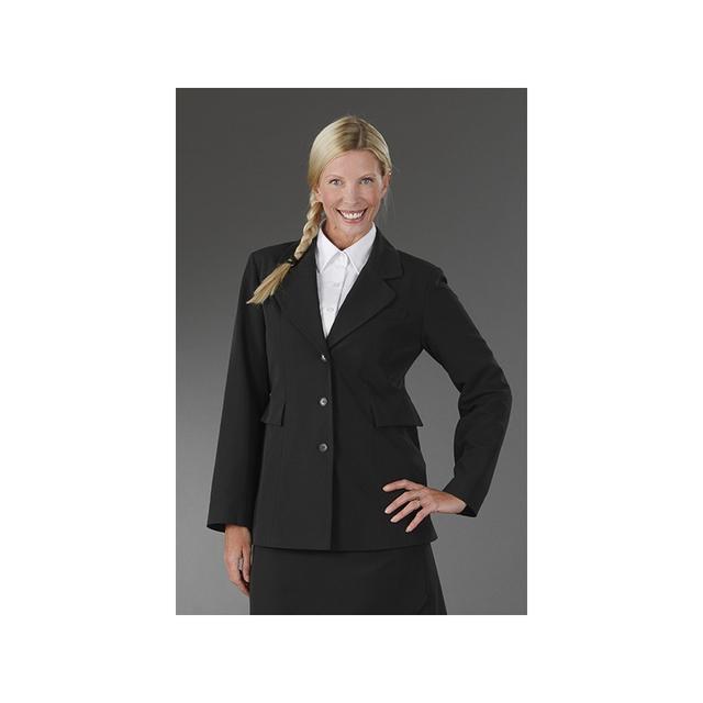 6b2a11553a30db Label Blouse - Veste tailleur Veste Femme Coloris Noir micropoly T40 ...