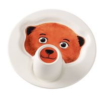 Villeroy & Boch - Set Assiette Avec Chope Animal Friends - Ours