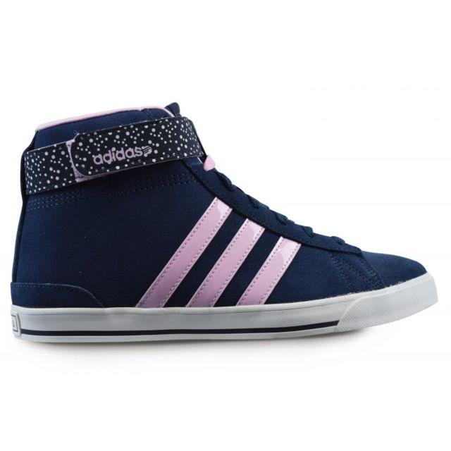 adidas neo bleu rose