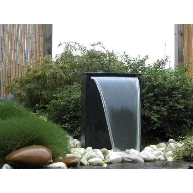 ubbink fontaine de jardin vicenza avec chute d 39 eau led. Black Bedroom Furniture Sets. Home Design Ideas