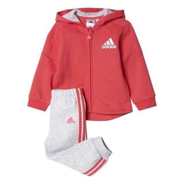 Adidas Survêtement bébéenfant fille style pas cher