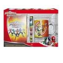 Power Rangers - Pow0520 - Carnet De Notes + Stylo + Mug De 320 Ml - Coffret Cadeau