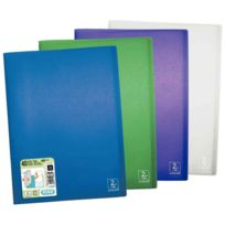 2DE Life - protège-documents en polypropylène 2nd life 40 pochettes, 80 vues