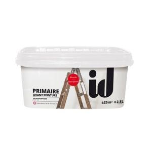 id paris - primaire d'accrochage opacifiante - 18219 - pas cher ... - Primaire D Accrochage Peinture Plafond