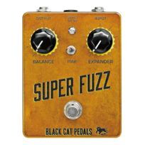 Blackcat - Black Cat fuzz - Super Fuzz guitare