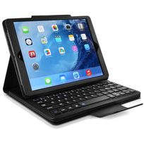 Karylax - Etui de Protection avec Clavier Français Azerty Français Bluetooth pour Apple iPad Mini 4