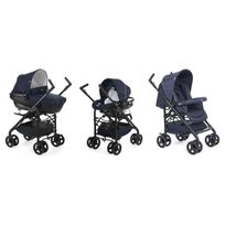 Chicco - Poussette Trio Sprint Black - Blue Passion
