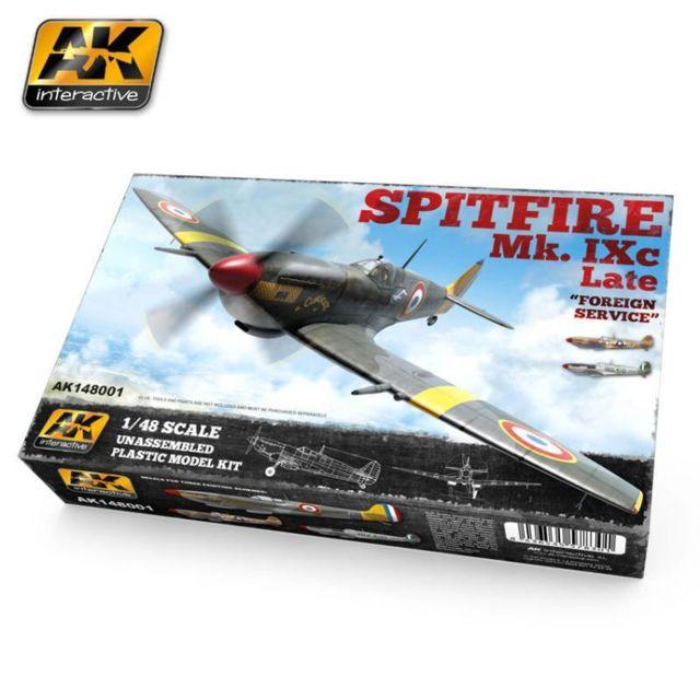 Ak Interactive Maquette Avion Spitfire Mk. Ixc Late Forgein Service