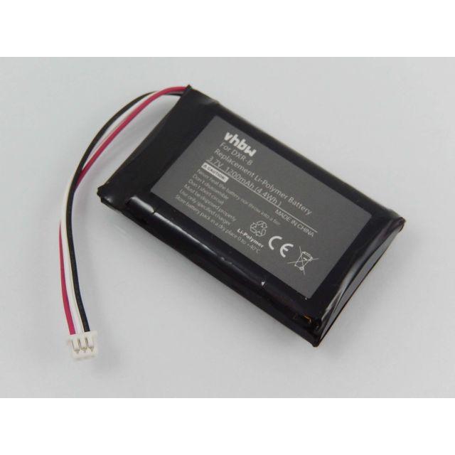 3.7V vhbw Li-Polym/ère batterie 1200mAh pour votre babyphone /écoute-b/éb/é babytalker comme Infant Optics SP803048