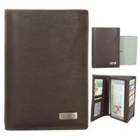 Kinsell - Portefeuille design Portefeuille homme cuir marron Cadeau homme 2c995de2226