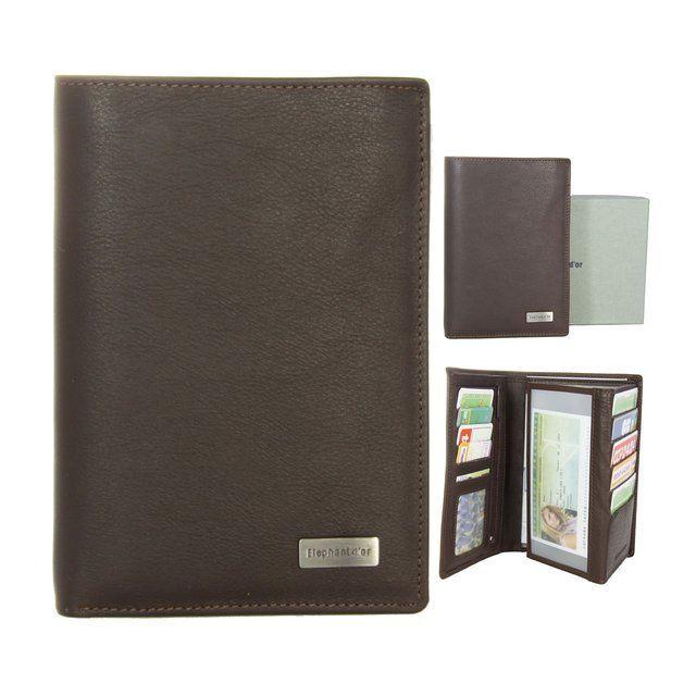 kinsell portefeuille design portefeuille homme cuir marron cadeau homme pas cher achat. Black Bedroom Furniture Sets. Home Design Ideas