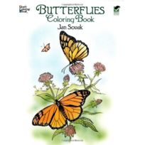 Dover - Butterflies Coloring Book