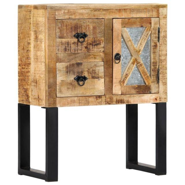 Chic Armoires & meubles de rangement collection Apia Buffet 60 x 30 x 76 cm Bois de manguier massif