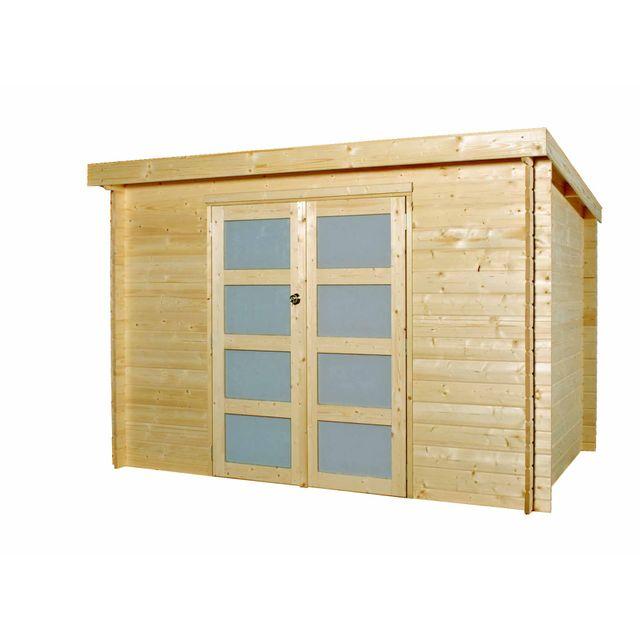 GARDENAS - ANVERS M - Chalet moderne en bois - 5.72 m² - 28mm 323m x 214m x 243m
