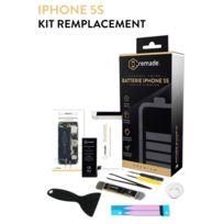 REMADE - Kit de réparation batterie pour iPhone 5S