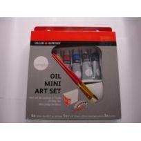 Daler Rowney - 118500900 - Kit De Loisirs CrÉATIFS - Mini-ensemble Artistique De Peinture À L'HUILE Simply