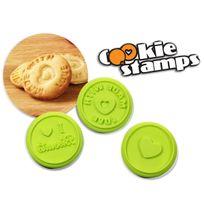 Totalcadeau - 3 tampons biscuit maison emporte pieces