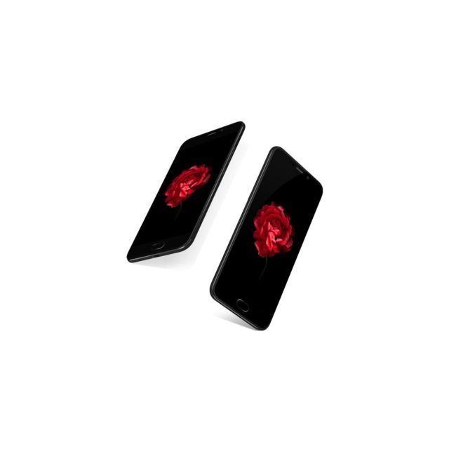Auto-hightech Smartphone 5,5 pouces Helio P20 2,3 Ghz Android 6.0 Octa Core 4G 6+64Go - Noir