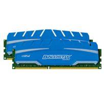 BALLISTIX - Sport XT 8 Go 2 x 4 Go DDR3 1600 MHz Cas 9