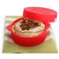 Yoko Design - Cuit camembert en silicone Rouge