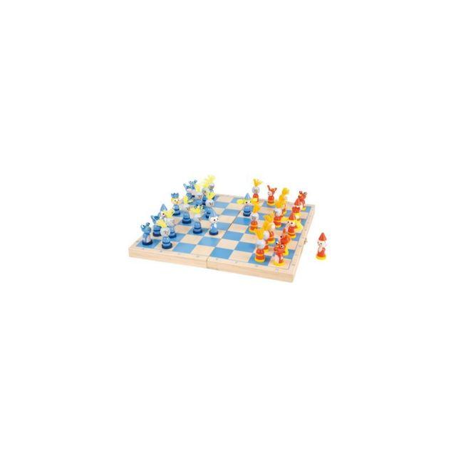 Small Foot Company Jeu d'échecs « Chevaliers