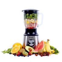 Duronic - Bl10 Blender / Mixeur Puissant de 1000W en Acier Inoxydable avec Carafe de 1,5 Litre - Idéal pour Smoothies, Milkshakes, Gaspachos, Compotes, Glace pilée, Fruits à coques