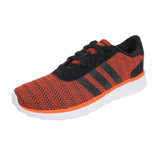 wholesale dealer a2e7c da6ab Adidas neo - Chaussures running mode Lite racer nr org Orange 48752 - pas  cher Achat   Vente Baskets homme - RueDuCommerce