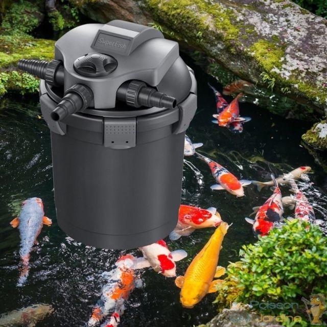 Filtre Bassins De Jardin Sous Pression Uv 7w Jusqu A 5000 Litres