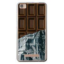 Kabiloo - Coque souple pour Haweel H1 avec impression Motifs tablette de chocolat