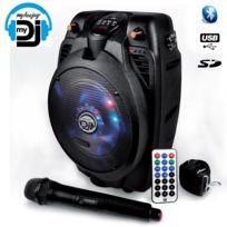 My Deejay - Enceinte 200W Mobile Picky-6.5 Leds Bluetooth Usb