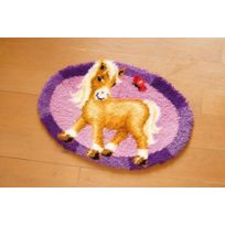 Vervaco - Tapis Design Poney Multicolore