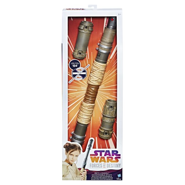 STAR WARS BATON TELESCOPIQUE DE REY