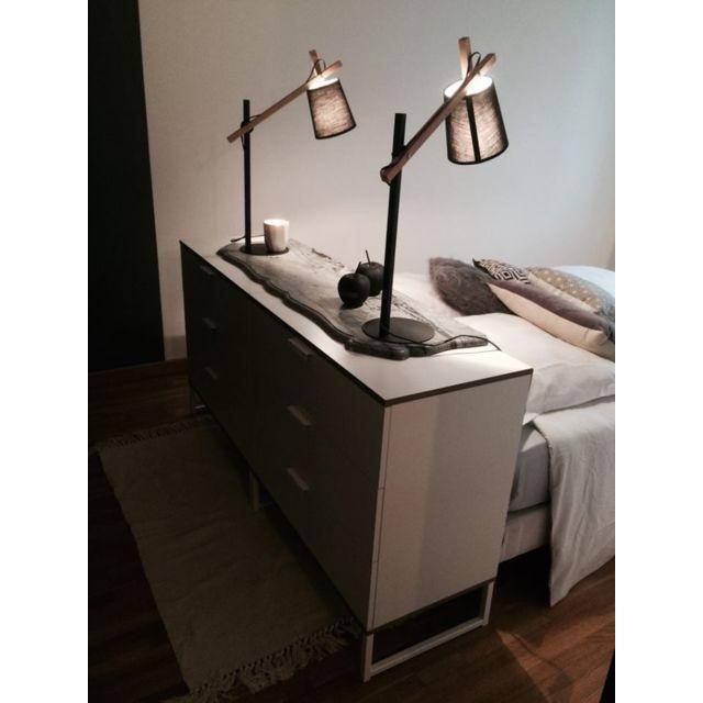 Atmosphera - Lampe architecte gris 65cm