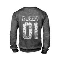 Magic custom - King & Queen - Sweat Col Rond Queen 01 - White Bandana
