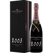 Champagne MoËT & Chandon - Grand Vintage Rose 2008 Bouteille avec coffret
