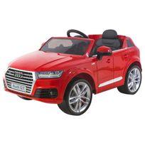 Happy Garden - Voiture électrique Audi Q7 - rouge