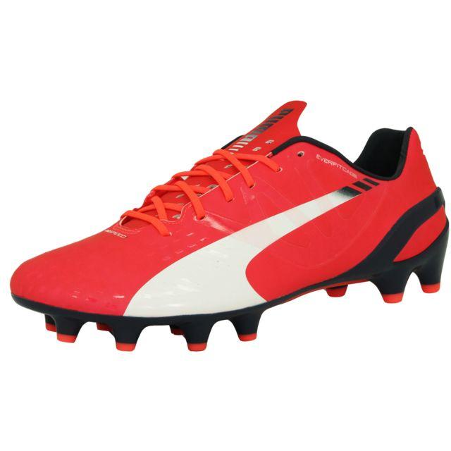 1 Rose Evospeed Duoflex Homme 3 Fg De Puma Chaussures Football TFlK1Jc